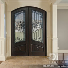 Traditional Hall by Doors For Builders Inc