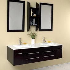 Modern Bathroom Vanities And Sink Consoles by DecorsRus LLC