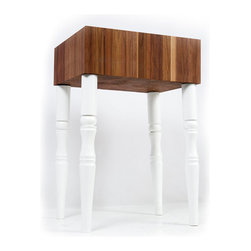 Butcher Blocks - The Carpenter is a Victorian style high class Standing Butcher Block that will add some elegance to your kitchen. Great looks combined with excellent functionality make this one Butcher Block you will use again and again.
