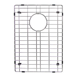 BOANN - BOANN Stainless Steel Grid for 60/40 SKR3322D2 Sink (Small Bowl) - The BOANN BNG3245S is the small bowl grid for BOANN's SKR3322D2 farmhouse 60/40 sink. Made from Solid T202 stainless steel, the grid is 100% Lead free and will not oxidize or rust.
