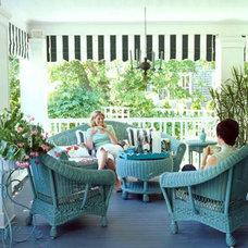 Moran House Front Porch < Colors of the Sea - Coastal Living