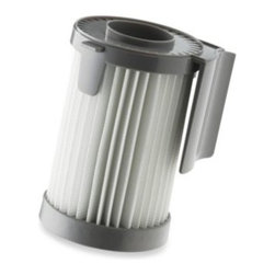 Eureka - Eureka HEPA Replacement Filter for Eureka Optima Vacuums - Eureka HEPA filter is made with baking soda to eliminate odors caused by mold, bacteria and fungi. HEPA filtration captures 99.9% of all dust and allergens in your home to assure you of cleaner indoor air.