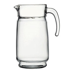 Hospitality Glass - 9.25H x 14.25T 55 oz Pitcher 6 Ct - 55 oz Pitcher