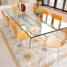 Contemporary Dining Room by The Tile Gallery