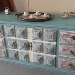 Custom Hand Painted Dressers -