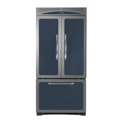 "Heartland - Classic Series HCFDR20CBL 36"" 19.8 cu. ft. Counter-Depth French Door Refrigerato - Our 36 wide ENERGY STAR French door refrigerator is the perfect match for your Heartland range or woodburning cookstove Electronic touch controls and a built-in filtered water dispenser are just a few of the convenience features The 54 cu ft capacity..."