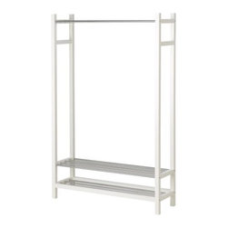 Henrik Preutz - TJUSIG Clothes/shoe rack - Clothes/shoe rack, white