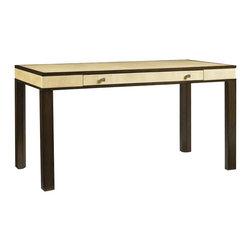 Aquarius - Aquarius Messina Desk in Ivory Shagreen Top - Aquarius - Writing Desks - 0142111026 - About the Aquarius Collection: