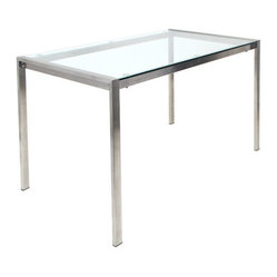 Fuji Dinette Table Clear Glass