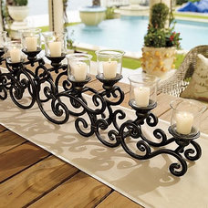 Traditional Candles And Candleholders by FRONTGATE