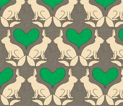 eclectic fabric by Spoonflower