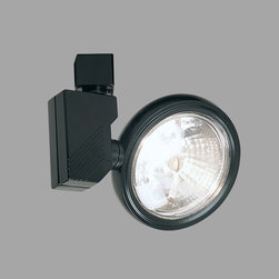 Nora Lighting - Nora NTL-225 AR111 Low Profile Gimbal Low Voltage Track Fixture with 50W Integra - Low profile gimbal fixture used where color rendition and high resolution is desired.