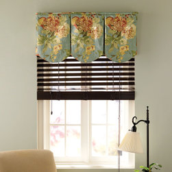 Blindsgalore - Blindsgalore Board Mounted Valances: Whimsy - Our Whimsy Board Mounted Valance offers a multiple column construction look with scalloped, rounded bottom hems on each piece.