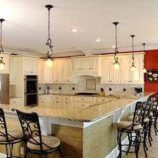 Traditional Kitchen by CRG Construction
