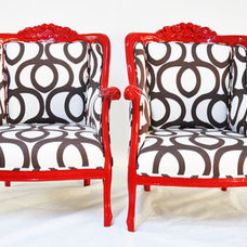 Eclectic Accent Chairs by Etsy