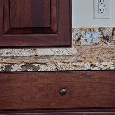 Contemporary Bathroom Countertops by Granite Grannies