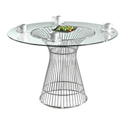 """Libo Dining Table, 42"""" -"""