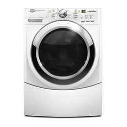 Maytag Stackable Front-Load Washer - Not only is this capable of handling 3.9 cubic feet of clothing, this is Energy Star–rated and stackable for further convenience.