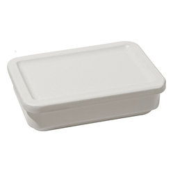 "Alessi ""Programma 8"" Medium Rectangle Container with Lid"
