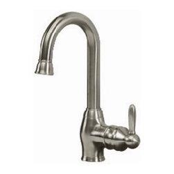 Pegasus - Pegasus Newbury Bar Faucet, Brushed Nickel (FS1A5070BNV) - Pegasus FS1A5070BNV Newbury Bar Faucet, Brushed Nickel