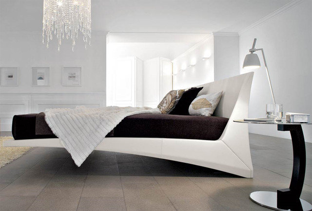 Modern Beds Dylan Designer Leather Bed By Cattelan Italia