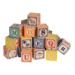 Classic Alphabet Blocks - - Recommended For Kids 3 Years And Older