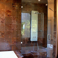 Contemporary Showers by SGO Designer Glass and Doors