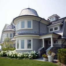 Traditional Exterior by Ridberg & Associates Architects
