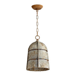 Cyan Design - Cyan Design Large Rusto One Light Pendant in Rustic - Cyan Design Large Rusto One Light Pendant in Rustic from Pendants & Island Lights Collection