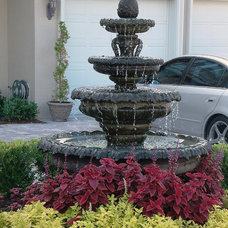 Outdoor Fountains by Native Stone / FL Statuary