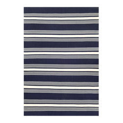 """Couristan - Grand Cayman Admiral Rug 5653/1134 - 2'3"""" x 8' - Nestle these performance area rugs anywhere inside or outside your home to achieve a fashionable, casual atmosphere. The contemporary designs are ideal for both outdoor and indoor spaces that are in need of a simple pattern and soothing color palette. From covered patios to the sun soaked garden rooms, these classic, nautical patterns are ideal for any space in your home, making it the center piece of your relaxation haven."""