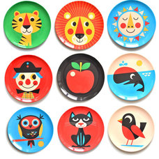 Eclectic Plates by Huset