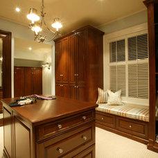 Traditional Closet by Terrat Elms Interior Design
