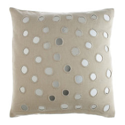Sheesha Euro Pillow by John Robshaw - This exotic mirrored pillow by John Robshaw is one that plays well with others and is worth splurging on. I've been coveting this for years and simply must make the leap soon!