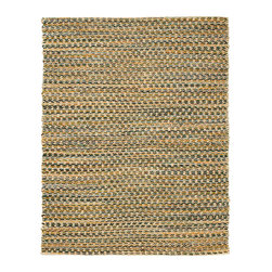 Ilana Jute and Chenille Cotton Rug - Jute brings a magnificent, chunky texture to any space. These rugs are expertly handloom-woven by skilled weavers who employ a variety of traditional techniques to create these simply beautiful styles. Jute fibers exhibit naturally anti-static, insulating and moisture regulating properties. It is predominantly farmed by approximately four million small farmers in India and Bangladesh and supports hundreds of thousands of workers in jute manufacturing (from raw material to yarn and finished products).