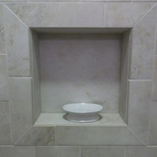 Traditional Tile by Kitchen / Fashion Plumbing Dept.