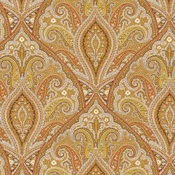 "Ballard Designs - Patterson Spice Fabric by the Yard - Content: 100% Cotton. Repeat: Non-railroaded fabric, 18"" repeat. Care: Dry Clean. Width: 54"" wide. Mustard, beige, brown and spice paisley printed on crisp 100% cotton  .  .  .  . Because fabrics are available in whole-yard increments only, please round your yardage up to the next whole number if your project calls for fractions of a yard. To order fabric for Ballard Customer's-Own-Material (COM) items, please refer to the order instructions provided for each product.Ballard offers free fabric swatches: $5.95 Shipping and Processing, ten swatch maximum. Sorry, cut fabric is non-returnable.Because fabrics are available in whole-yard increments only, please round your yardage up to the next whole number if your project calls for fractions of a yard. To order fabric for Ballard Customer's-Own-Material (COM) items, please refer to the order instructions provided for each product.Ballard offers free fabric swatches: $5.95 Shipping and Processing, ten swatch maximum. Sorry, cut fabric is non-returnable."