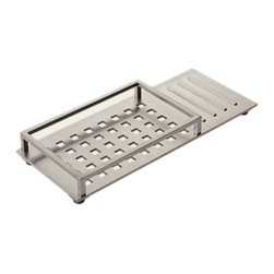 Delta - Delta 77612-SS Vero Vanity Tray (Stainless) - The Vero series brings a visionary style and modern feel to your home.