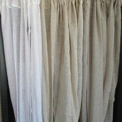 Linen Sheer Curtain Panel - Clayton Gray Home -
