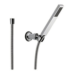 Delta - Delta 55530 Vero Wall-Mount Handshower (Chrome) - Delta 55530 Vero Collection is inspired by the graceful and slim lines of a ribbon adding a high-end and modern look. The Delta 55530 is a 1 Function Hand Shower in Chrome.