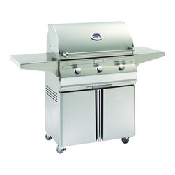 Fire Magic - Fire Magic Choice C540s-1T1N-96 Cart Gas Grill - Heavy-gauge tubular stainless steel burners