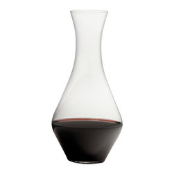 Riedel - Riedel Decanters Cabernet Magnum - The Riedel Cabernet Magnum Decanter is a classically shaped vase-like decanter, terrific for decanting any wine, not just the namesake Cabernet. The Riedel magnum cabernet decanter is a machine blown leaded crystal decanter suitable for a magnum (double) or standard sized bottle of wine.