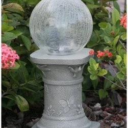 Shop Gazing Ball Products On Houzz