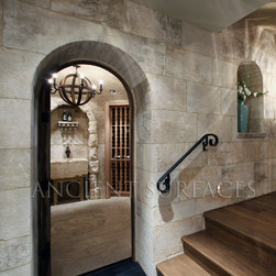 Antique Kronos Stone - Image by 'Ancient Surfaces' Product name: Antique Kronos Stone Flooring