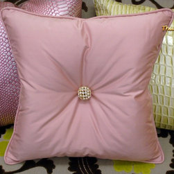 Bling Throw Pillow, Pink...Carnaby Street - Designed by Thundersley Home Essentials
