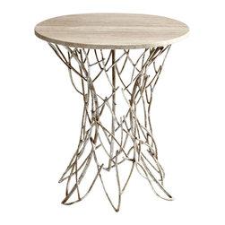 Cyan Design - Twigs Side Table - Twigs side table - antique silver