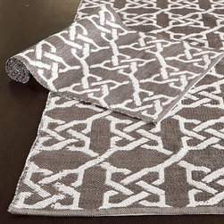 Ballard Designs - Farrah Indoor/Outdoor Rug - The Farrah indoor/outdoor rug is an eco-conscious design made from recycled water bottles.