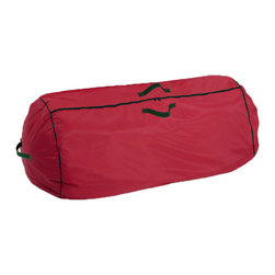 Hold N Storage - Christmas Storage Collection Tree Bag with Handles - Simple Storage. Store your holiday tree in this red tree bag and in the future to use simply unzip.