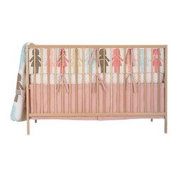Dwell Paper Dolls Crib Set -