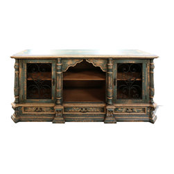 Buffets and Sideboards - This buffet features a Mediterranean and Old World inspired design and is just one of the alluring furnishings that you can get through The Koenig Collection at a local Houston showroom!